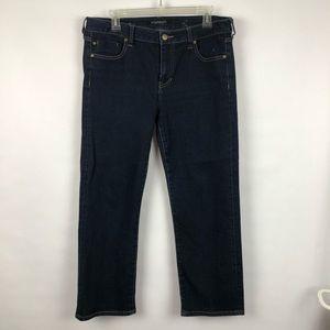 Liverpool Jeans Straight Dark Wash 12 petite